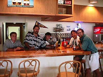 The Island Bar 1998 with Tom & Bob
